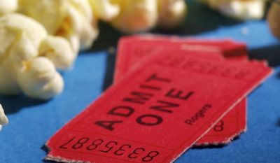 According to the National Association of Theatre Owners, what was the average price of a movie ticket in the US in 2015?