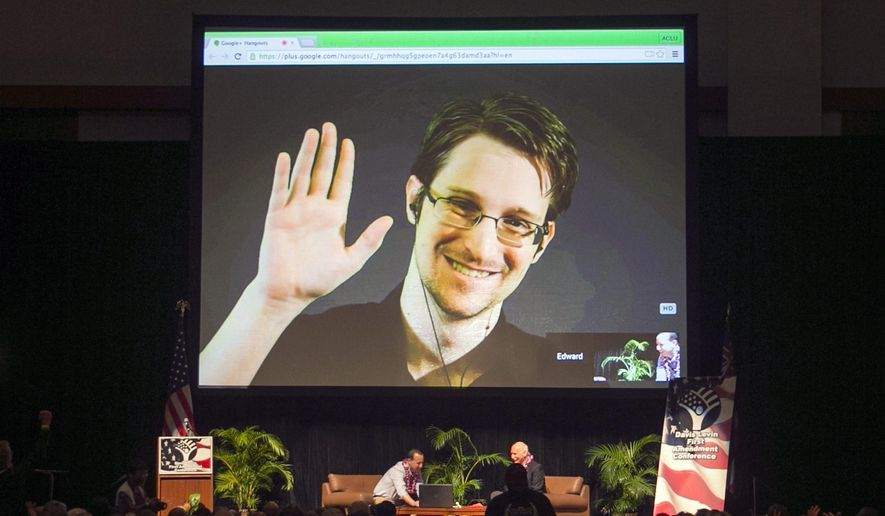 Edward Snowden (Associated Press/File)