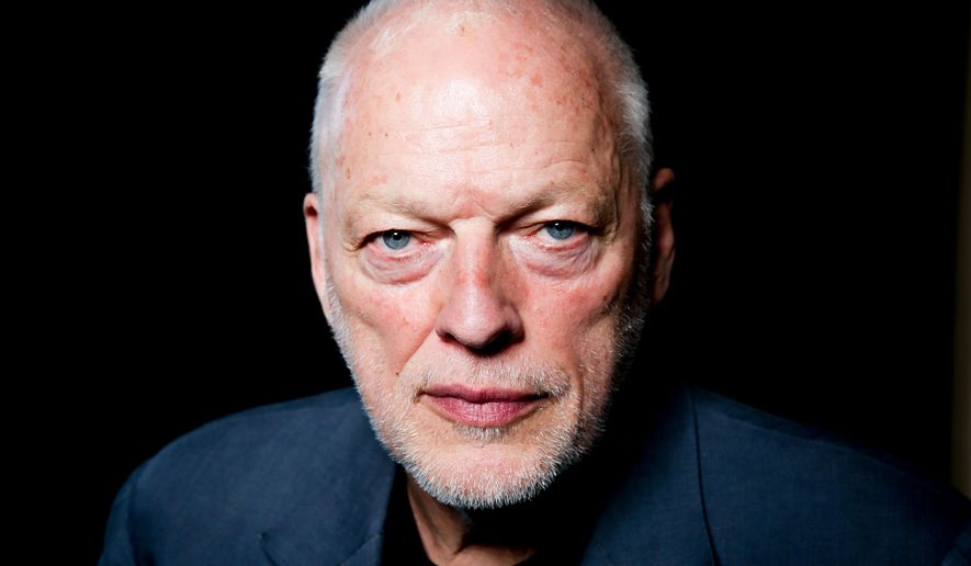 In this March 22, 2016 photo, David Gilmour poses for a portrait in Los Angeles. Gilmour is on a rare tour right now, his first in a decade, stopping in New York before a European leg that continues through summer. (Photo by Rich Fury/Invision/AP)