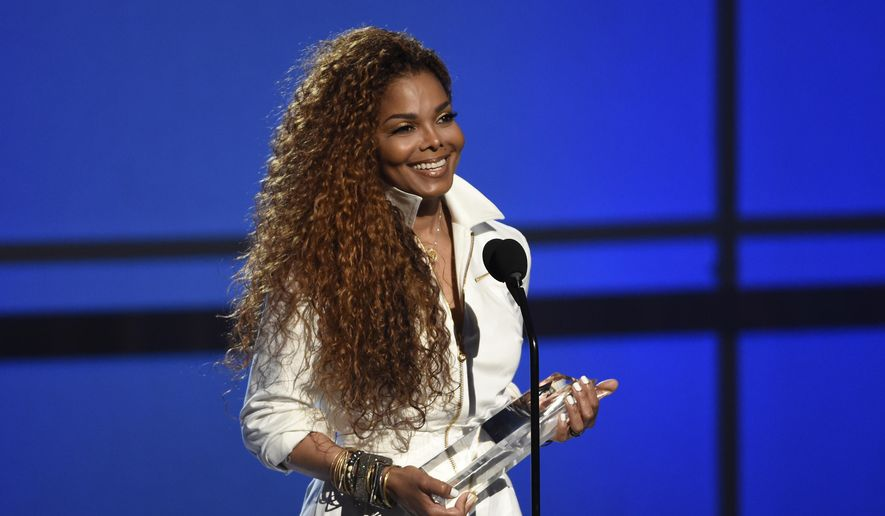 Janet Jackson accepts the ultimate icon: music dance visual award at the BET Awards at the Microsoft Theater in Los Angeles, in this June 28, 2015, file photo. (Photo by Chris Pizzello/Invision/AP, File)
