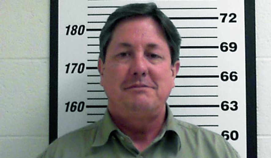 FILE - This Feb. 23, 2016 booking file photo released by the Davis County, Utah Jail shows Lyle Jeffs. The high-ranking polygamous leader Jeffs will have to wait to find out if he can leave jail pending trial on accusations he helped orchestrate a multimillion-dollar food stamp fraud scheme. U.S. District Judge Ted Stewart said at a hearing Wednesday, April 6, that he would consider the request. (Davis County Jail via AP, File)