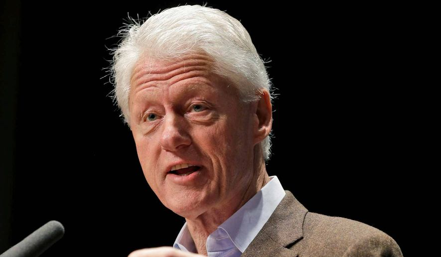 Former President Bill Clinton. (Associated Press)