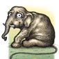 Illustration on developing difficulties for the GOP by Kevin Kreneck/Tribune Content Agency
