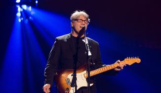 Inductee Steve Miller performs at the 31st Annual Rock and Roll Hall of Fame Induction Ceremony at the Barclays Center on Friday, April 8, 2016, in New York. (Photo by Charles Sykes/Invision/AP)