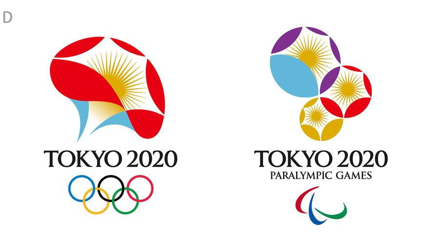 """This undated illustration provided by the Tokyo 2020 Emblems Selection Committee shows the """"Flowering of Emotions"""" logo for the Tokyo 2020 Olympics.  The Tokyo 2020 Olympics and Tokyo 2020 Emblems Selection Committee unveiled four designs shortlisted to become the official logo of the 2020 Tokyo Olympics, during a press conference in Tokyo, Friday, April 8, 2016.  (Tokyo 2020 Emblems Selection Committee via AP)"""