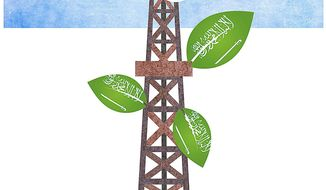 Modernization of the Saudi Economy Illustration by Greg Groesch/The Washington Times