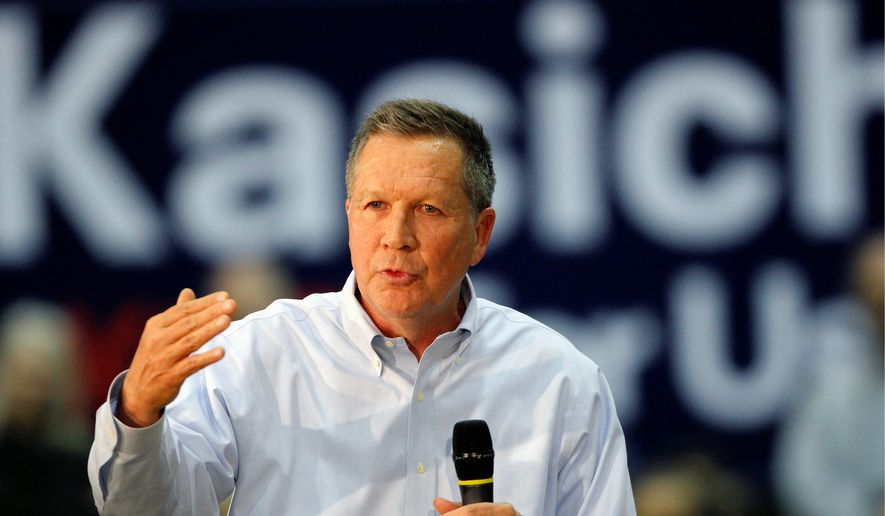 Ohio Gov. John Kasich's campaign has released several ads that specifically targeted Sen. Ted Cruz. (Associated Press)