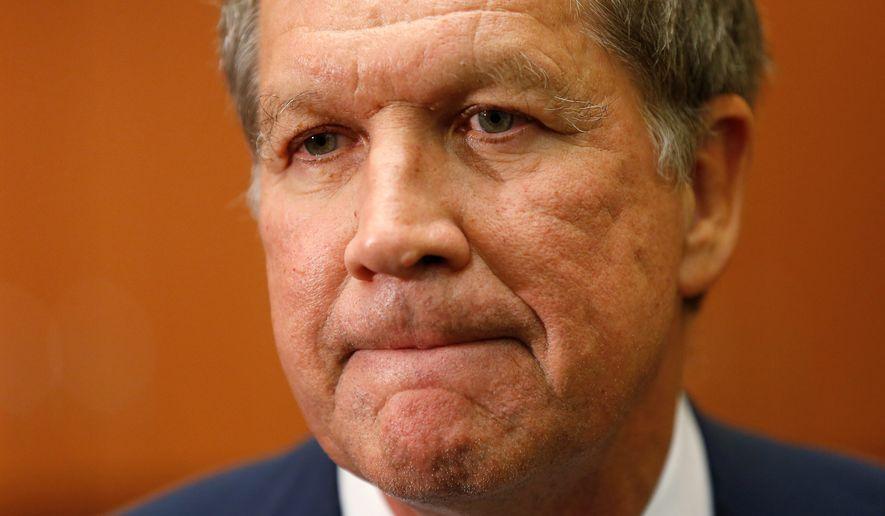 Ohio Gov. John Kasich, Republican presidential candidte