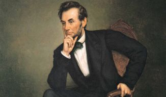 Abraham Lincoln (Associated Press photo of the painting by George P.A. Healy)