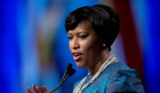 D.C. Mayor Muriel Bowser. (Associated Press) ** FILE **