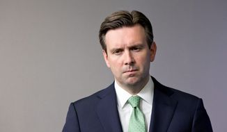 White House press secretary Josh Earnest on Monday said that the aftermath of the ouster of Libya's Moammar Ghadhafi informed President Obama's military decision-making on Syria. (Associated Press)