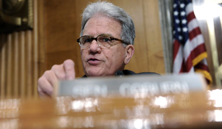 """""""[The payments] should have been suspended until they were proved disabled,"""" said former Sen. Tom Coburn, who led a congressional investigation that first exposed the scam in 2013. (Associated Press)"""