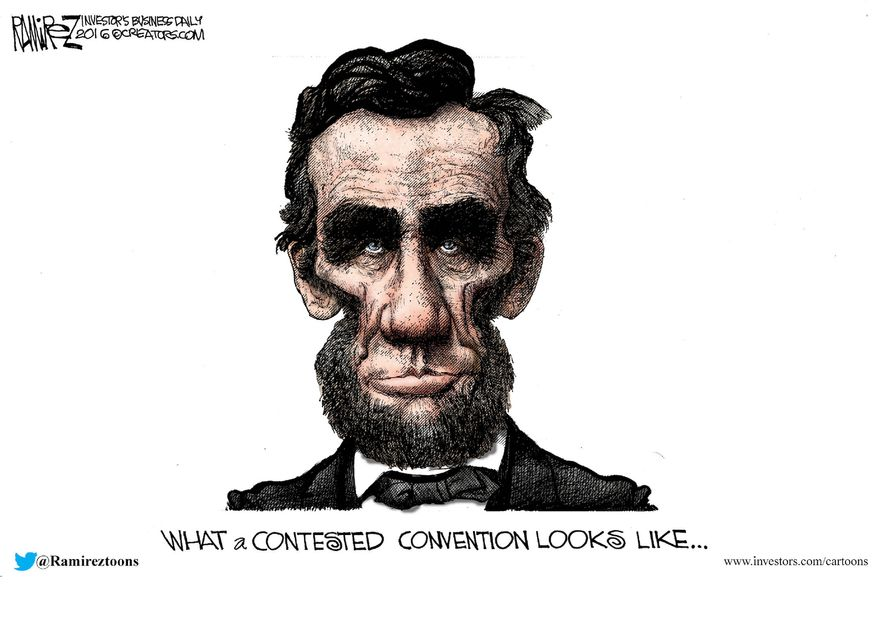 Illustration by Michael Ramirez for Creators Syndicate