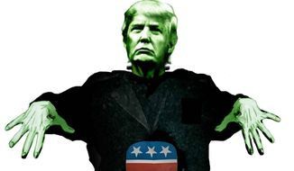 Illustration on the problematic Donald Trump by M. Ryder/Tribune Content Agency