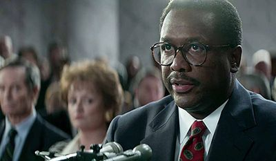 """Wendell Pierce as Clarence Thomas in HBO Films' """"Confirmation""""             Photo courtesy HBO"""