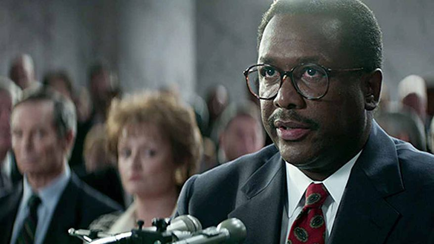 "Wendell Pierce as Clarence Thomas in HBO Films' ""Confirmation""             Photo courtesy HBO"