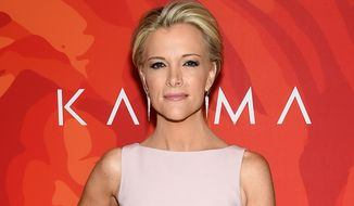 "In this April 8, 2016, file photo, Fox News anchor Megyn Kelly attends the ""2016 Variety's Power of Women: New York"" in New York. Donald Trump met with Fox News Channel anchor Megyn Kelly on Wednesday, April 13, 2016, who he has been bad-mouthing on social media since he was angered by a question she asked him last summer. Fox says the meeting, in New York's Trump Tower, will be discussed on Kelly's Fox show Wednesday night. (Photo by Evan Agostini/Invision/AP, File)"