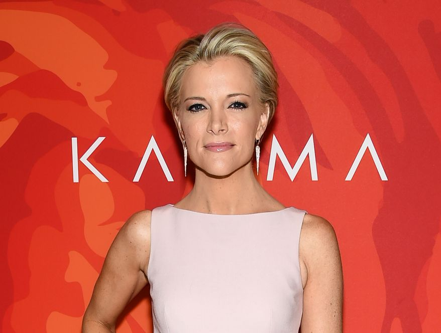"""In this April 8, 2016, file photo, Fox News anchor Megyn Kelly attends the """"2016 Variety's Power of Women: New York"""" in New York. Donald Trump met with Fox News Channel anchor Megyn Kelly on Wednesday, April 13, 2016, who he has been bad-mouthing on social media since he was angered by a question she asked him last summer. Fox says the meeting, in New York's Trump Tower, will be discussed on Kelly's Fox show Wednesday night. (Photo by Evan Agostini/Invision/AP, File)"""