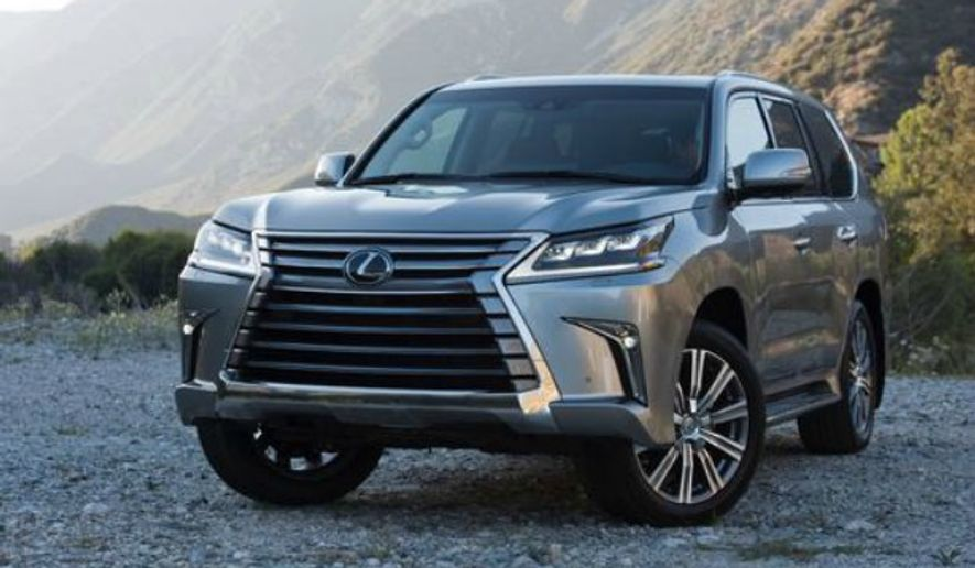 Rita Cook Car Review Upgrades New Touches For 2016 Lexus Lx570 Washington Times