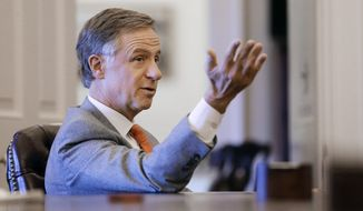 Tennessee Gov. Bill Haslam vetoed a bill Thursday that would have made the Bible the state book. (Associated Press)