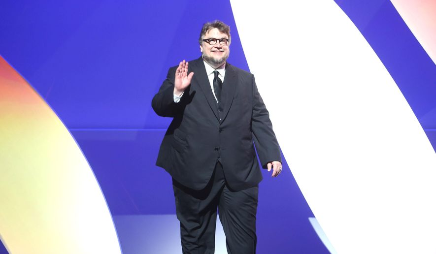 Filmmaker Guillermo Del Toro during the opening ceremony at the 68th international film festival, Cannes, southern France, Wednesday, May 13, 2015. (AP Photo/Thibault Camus)