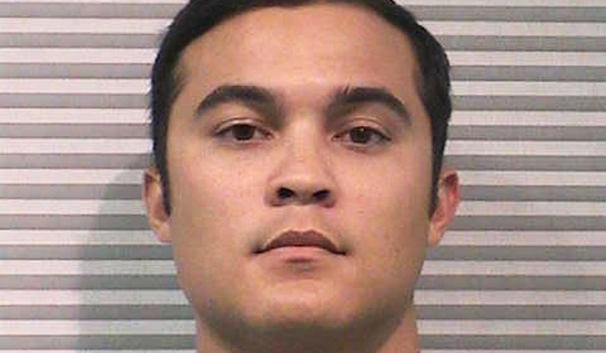 FILE - In this July 21, 2015, file photo, provided by the Cache County Sheriff's Office shows Jason Relopez. A plea deal in a sexual assault case against the former Utah State University fraternity brother could fall apart over the disputed results of a psychosexual evaluation. Judge Brian Cannell said Wednesday, April 13, 2016, he can't rely on the test that found 27-year-old Relopez presents a low-to-moderate risk of committing another assault. Cannell said he will allow the defendant to back out of the deal. (Cache County Sheriff's Office via AP, File)