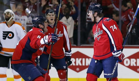 0d740efcfdc Advantage taken as Capitals  power play wakes up from late-season ...
