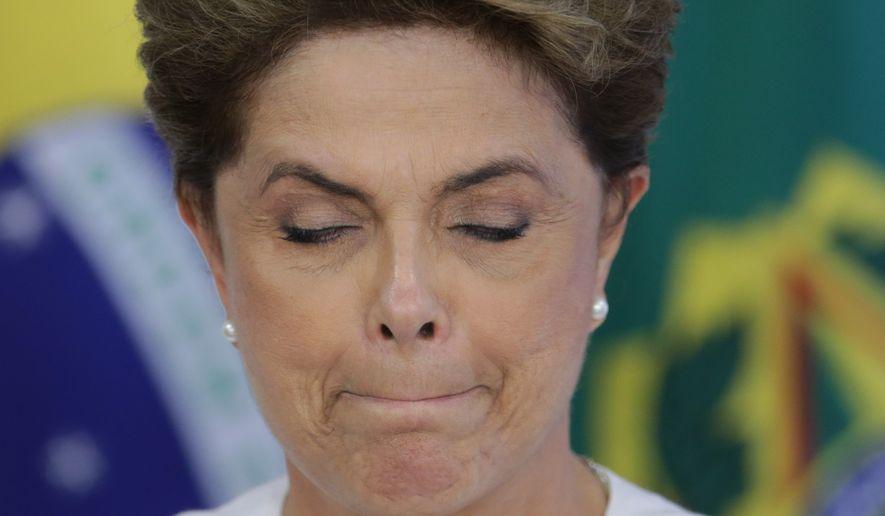 Brazilian President Dilma Rousseff (Associated Press)