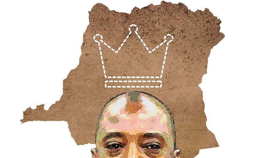 King Kabila Illustration by Greg Groesch/The Washington Times