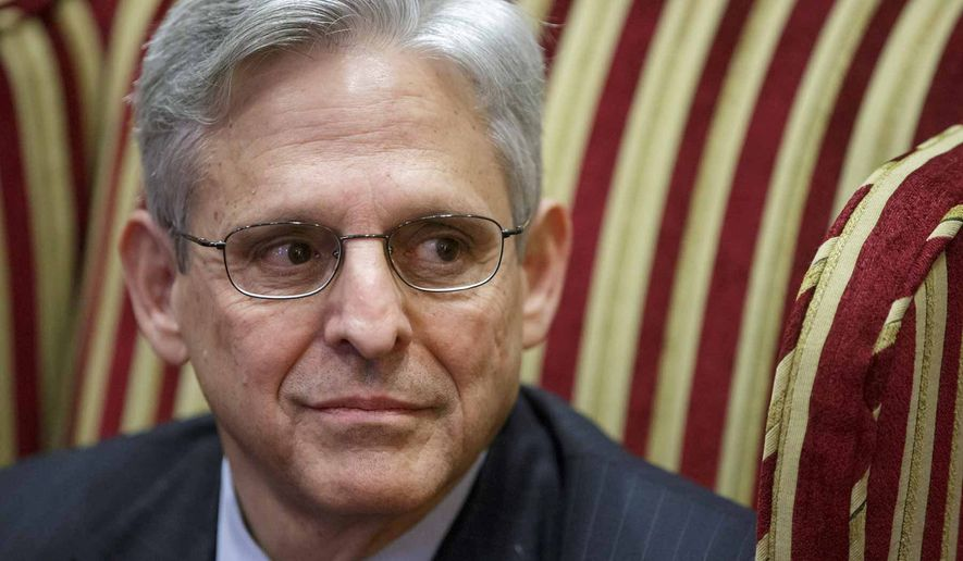 Merrick Garland             Associated Press photo