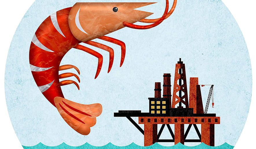 Prosperity of the Offshore Energy Industry Illustration by Greg Groesch/The Washington Times