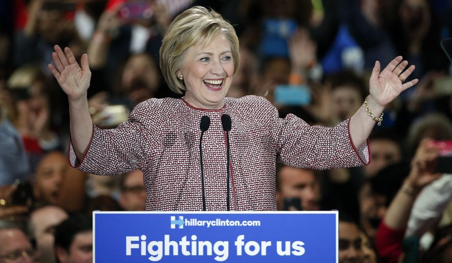 The New York win puts Hillary Clinton back in the driver's seat heading toward the April 26 slate of Northeastern contests in Pennsylvania, Maryland, Connecticut, Rhode Island and Delaware. (Associated Press)