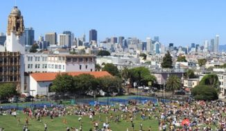 Mission Dolores Park in San Francisco. (Image: http://sfrecpark.org/destination/mission-dolores-park/)