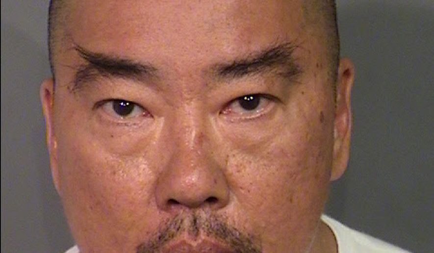 This April 2016 photo released by Las Vegas Metropolitan Police Department shows Norman Chen at the Clark County Detention Center in Las Vegas. Chen, a public bus driver is claiming self-defense in the Friday, April 15, shooting of a passenger during a scuffle. (Las Vegas Metropolitan Police Department via AP)