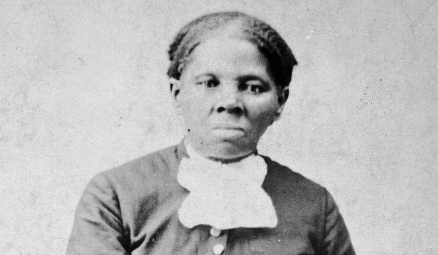 This image provided by the Library of Congress shows Harriet Tubman, between 1860 and 1875. (H.B. Lindsley/Library of Congress via AP)