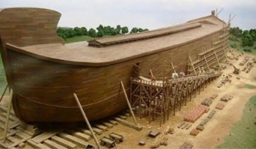 The Ark Encounter in Wiiliamstown, Kentucky, is a 510-foot-long replica of Noah's Ark. (Associated Press)