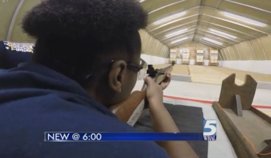 A North Carolina high school has opened an indoor shooting range for members of its Navy Junior Reserve Officer Training Corps program. (WRAL)