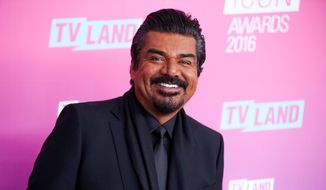 In this April 10, 2016 file photo, George Lopez arrives at the 2016 TV Land Icon Awards in Santa Monica, Calif.  (Photo by Rich Fury/Invision/AP, File) ** FILE **