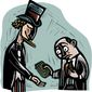 Illustration on the debilitating burden of high taxes by William Brown/Tribune Content Agency