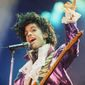 Prince's inimitable musical style blended together elements of gospel, rock, funk, jazz and blues, passed through his own unique prism, to create an aesthetic that was adored and imitated the world over. (Associated Press photographs)
