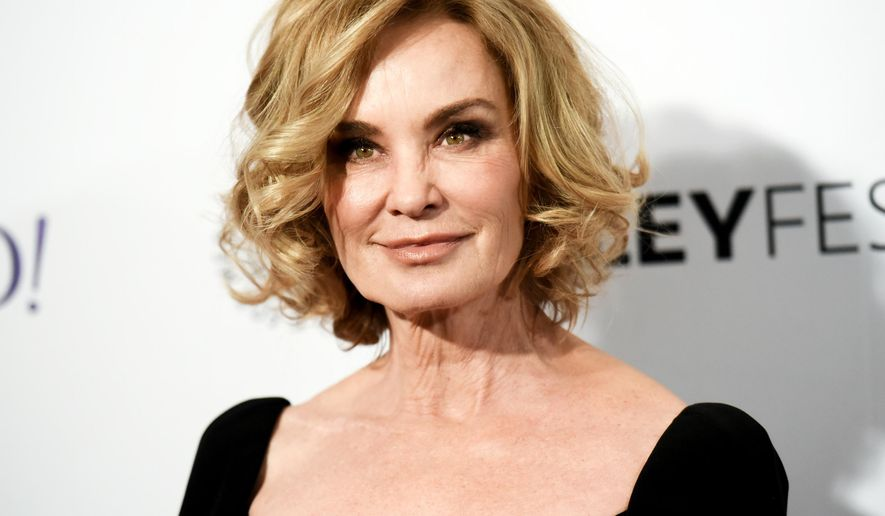 "FILE - In this March 15, 2015 file photo, Jessica Lange arrives at the 32nd Annual Paleyfest : ""American Horror Story: Freak Show"" in Los Angeles. Lange will play a drug-addled mother in the gloomy Broadway revival of ""Long Day's Journey Into Night,"" opening on April 27 at the American Airlines Theatre in New York.  (Photo by Richard Shotwell/Invision/AP, File)"