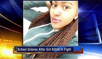 Delaware police are questioning several students at a Wilmington high school after Amy Inita Joyner-Francis, 16, was beaten to death in the school's bathroom Thursday morning. (WPVI)