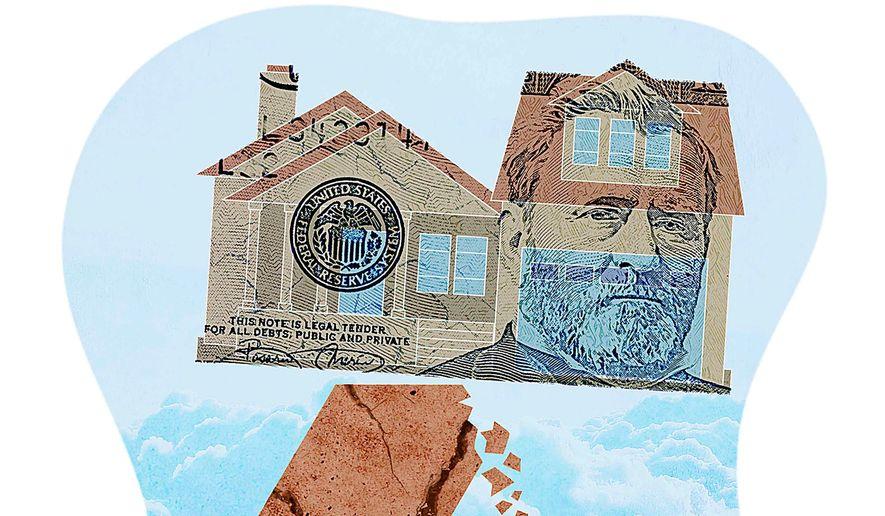 Negative Effect of Negative Interest Illustration by Greg Groesch/The Washington Times