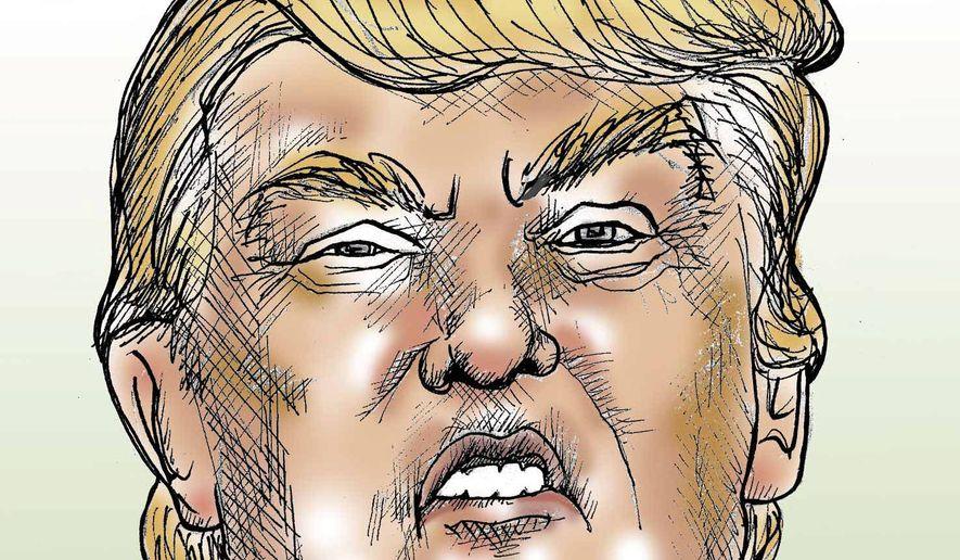 Street Smart Donald Trump Illustration by Jennifer Kohnke