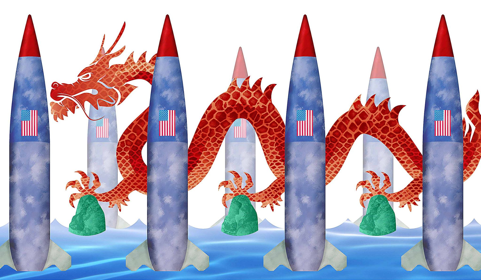 An American 'wall of missiles' to deter China