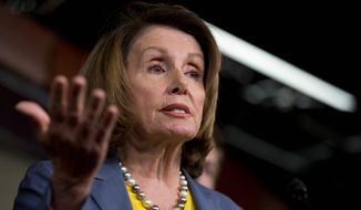 House Minority Leader Nancy Pelosi of California declared Zika is far too imminent a threat to public health to quibble over funding sources, and called out Republicans for saying the money can only come from budget cuts elsewhere. (Associated Press)