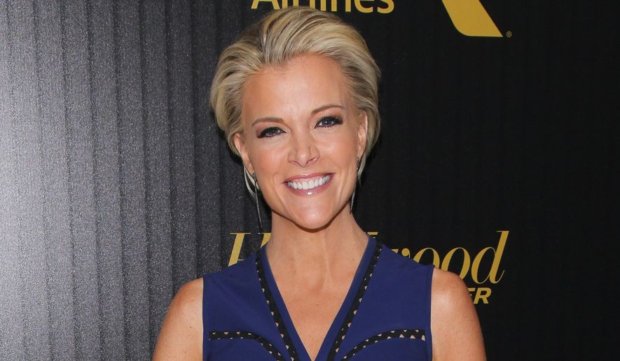 """FILE - In this April 6, 2016 file photo, Megyn Kelly attends The Hollywood Reporter's """"35 Most Powerful People in Media"""" celebration in New York. Kelly will interview Donald Trump for a Fox TV special. It will mark Kelly's first interview with Trump since their encounter during a Fox News Channel debate last August. The GOP presidential contender will be a guest on """"Megyn Kelly Presents,"""" a prime-time special airing May 17 on Fox TV, the network said Monday. (Photo by Andy Kropa/Invision/AP, File)"""