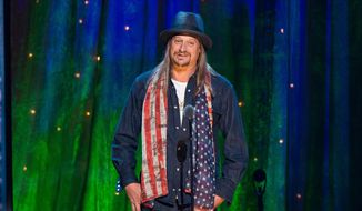 In this Friday, April 8, 2016 file photo, Kid Rock appears at the 31st Annual Rock and Roll Hall of Fame Induction Ceremony at the Barclays Center in New York. (Photo by Charles Sykes/Invision/AP, File)