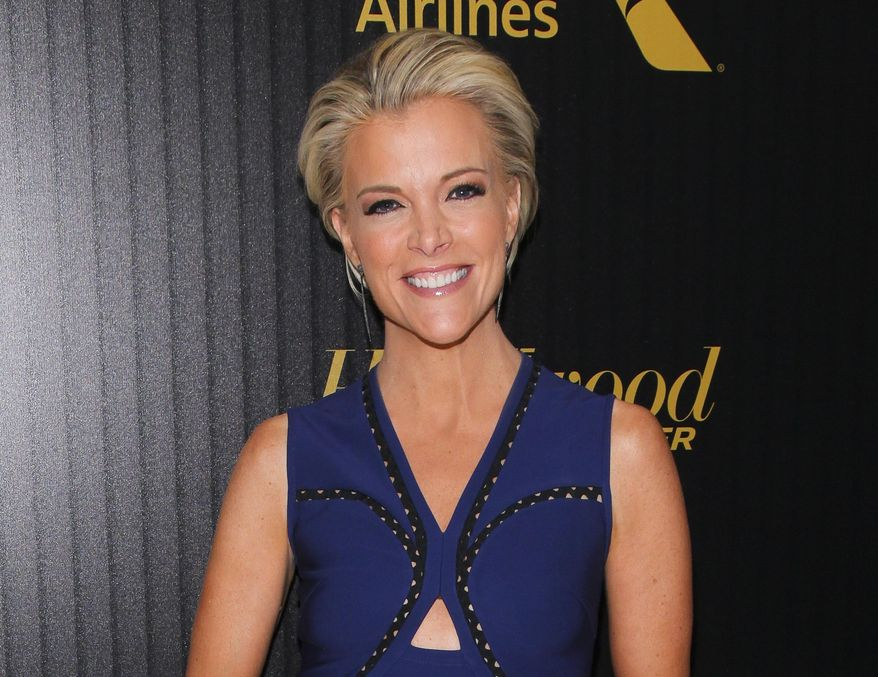 """In this April 6, 2016 file photo, Megyn Kelly attends The Hollywood Reporter's """"35 Most Powerful People in Media"""" celebration in New York. (Photo by Andy Kropa/Invision/AP, File)"""