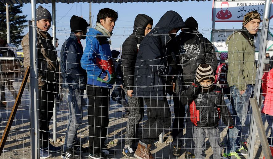 Refugees from Syria, Afghanistan and Iraq have fled to Europe in search of asylum. President Obama wants the U.S. to take in 10,000 Syrian refugees this fiscal year, but officials are not screening all social media accounts. (Associated Press)